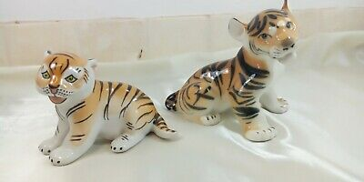 A Lovely , Pair Of Lomonosov , Tigers In Different Sizes & Poses . • 19.99£
