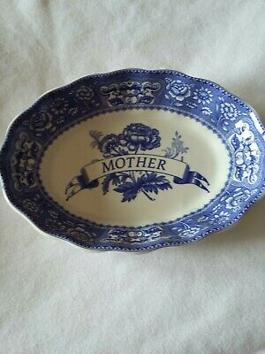 Spode Blue Room Collection Dish(Mark Mother Ideal For Mothers Day Gift)  • 6.50£