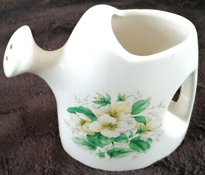 Vintage Rare  Withernsea Eastgate Watering Can Floral Jug RARE ! • 4.99£