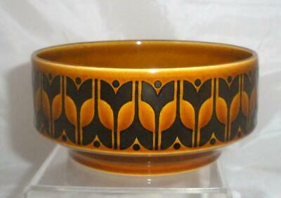Hornsea Pottery Heirloom Autumn Brown Pattern Soup Cereal Dessert Bowl 13cm Dia • 5.25£