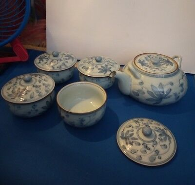 Blue And White Teaset Oriental  • 85£