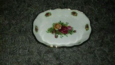 Fab Royal Albert Old Country Roses Oval Trinket Dish . • 12.99£