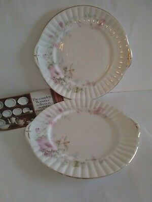 Royal Stafford  Romance  R312 Pair Of Bread And Butter Plates 25.5cm Dia • 1.99£