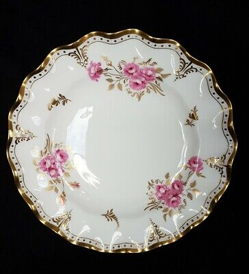 Royal Crown Derby  Royal Pinxton Roses Plate  Second 10   • 6.99£
