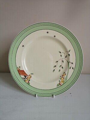 Clarice Cliff  Wishing Well  9  Dinner Plate • 39£