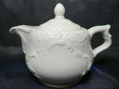 Rosenthal Group Germany Porcelain White Classic Rose Small Teapot • 16£
