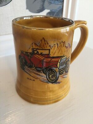 Vintage Wade Veteran Car Club Mug • 1£