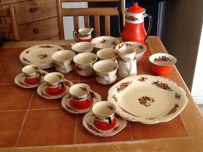 Wedgwood Antique Richelieu Coffee Set And Teacups,ect. • 39.99£