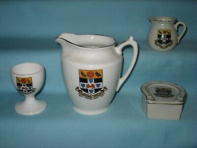4 Crested Pieces - All With CARDINAL WOLSEY Crest • 5.99£