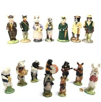 Rare 1980s Beswick Handmade Collectable Promenade Band Country Folk Pig Figures • 22.45£