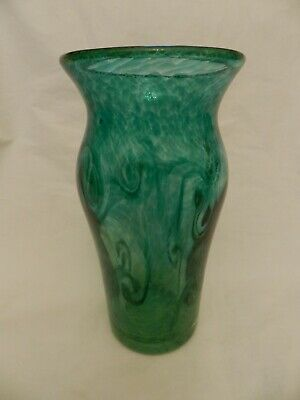 Scottish Borders Green Stylish Art Glass - Monart Type  • 49.99£