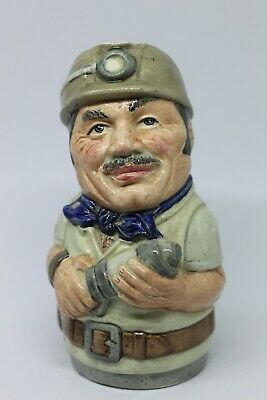 Vintage Royal Doulton Mike Mineral The Miner Doultonville Character Jug  • 19.99£