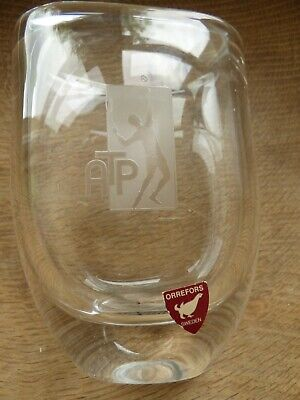 ATP TOUR Early Logo Orrefors Numbered Limited Edition Pen Holder Or Small Vase • 49£