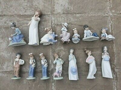 Lladro - Nao - Porcelain - Various - Collectable - Figurine - Pottery You Choose • 28.95£