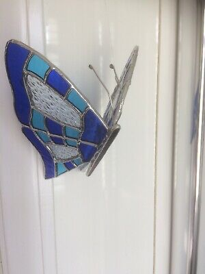 Stained Glass 3D Butterfly • 26.99£
