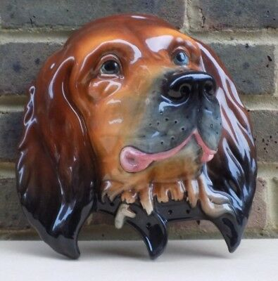 BESWICK Large Red Setter Dog Plaque 668 • 89.99£