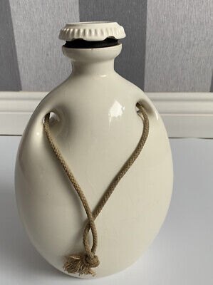 Antique Stoneware Grimwades The Mecca Hot Water Bottle – With Screw Cap & Rope • 18£