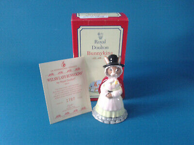 Royal Doulton Bunnykins Welsh Lady DB172 Boxed With Certificate • 35£