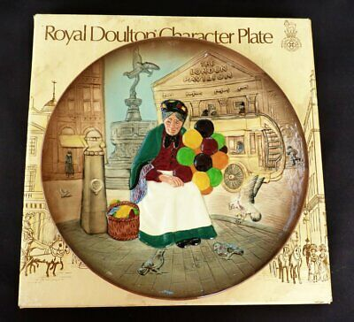 Vintage Royal Doulton Character Balloon Seller Plate Plaque 10  • 12.99£