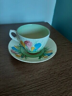 Clarice Cliff Cup And Saucer  • 23£
