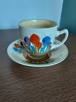 Clarice Cliff Cup And Saucer  • 22£