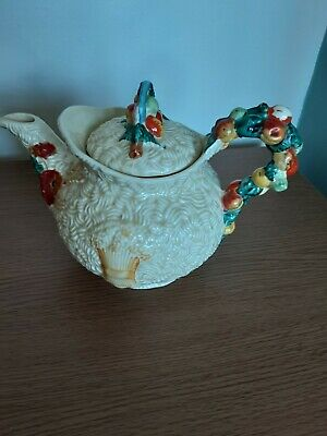 Clarice Cliff Celtic Harvest Tea Pot • 17£