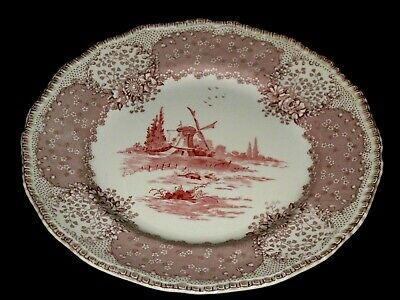 Royal Doulton Plate Windmill Scenery Collectable Decorative Porcelain • 12£