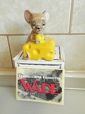 Wade Ceramic Mouse Wisconsin 1997.  Boxed. • 20£