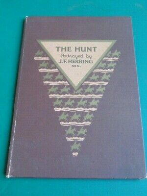 The Hunt Portayed By J.f.herring Sen.  Famous Hunting Scenes On Spode China • 3.99£