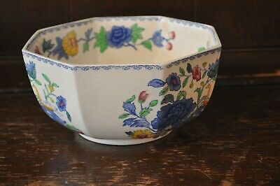 MASONS 'Regency' Pattern Large Octagonal Fruit Bowl - 19cm Diametre • 15£