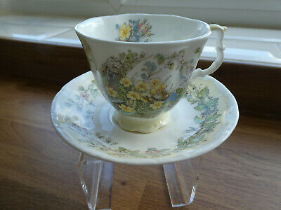 Brambly Hedge Cup And Saucer - Spring 2nd Quality • 7.50£