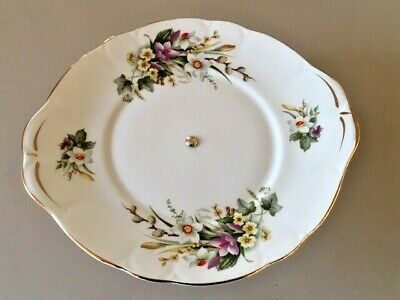 Vintage Cake Plate On A Stand Duchess Spring • 9.99£
