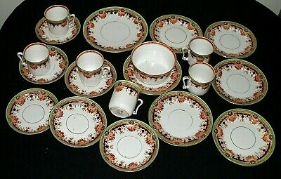Superb Antique English Sutherland China 20 Piece Tea Set In Good Condition • 29.99£