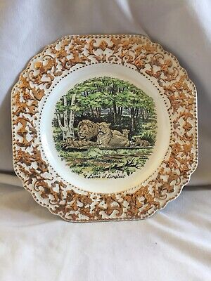 "Lord Nelson Pottery ""Lions Of Longleat"" England Collectors Plate • 25£"
