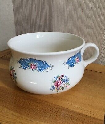 Chamber Pot/plant Pot - Display -  Lord Nelson Pottery - Rose Design • 8£