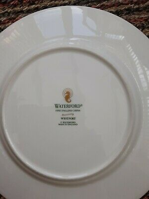 7 Waterford China Bread Plates Westport • 3.99£