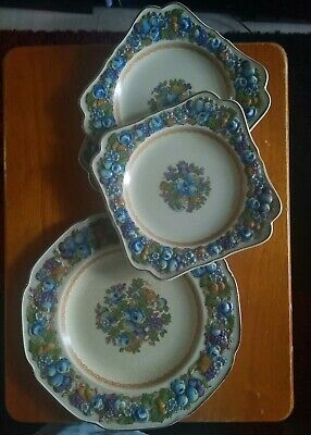 Vintage Set Of Crown Ducal Ware Dinner Plates MadeE In England 1954 20  • 20£