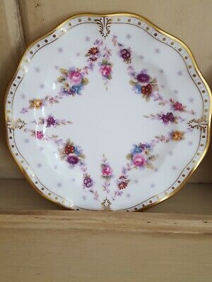 Royal Crown Derby 6  Royal Antoinette Plate  2nd Quality • 15£