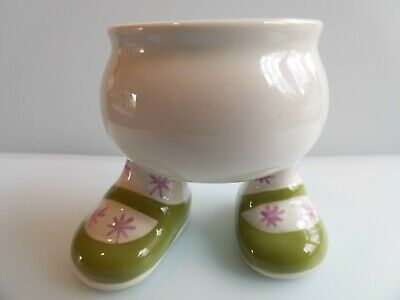 Carlton Walking Ware Green Egg Cup • 14.99£