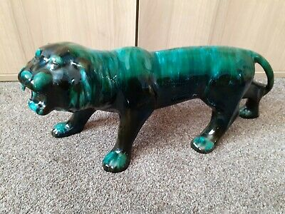 Blue Mountain Pottery Large Tiger • 40£