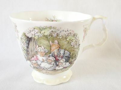 Brambly Hedge Poppy's Babies Tea Cup 1st Quality • 55£
