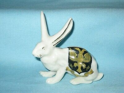 Savoy China Long-Eared Hare - FALMOUTH Crest • 14.99£