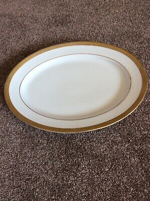 Boots Imperial Gold Large Serving Plate • 24.99£