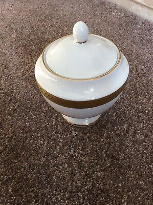 Boots Imperial Gold Lidded Sugar Bowl • 19.99£