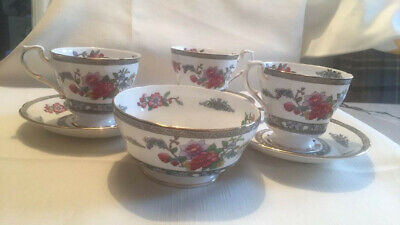 Paragon  Tree Of Kashmir  3 X Cup And Saucers Plus Sugar Bowl • 5£