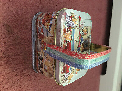 FOXWOOD TALES LOVELY TIN  USED WITH HANDLE 10/6/6 Cm  • 3.50£