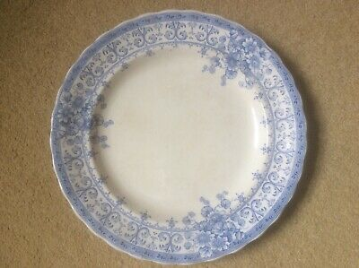 OXFORD Keeling & Co Late 19th/early 20thc Blue & White Large Plate 25cm Diameter • 1.50£