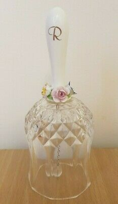 Royale County Floral Crystal Bell • 5£