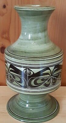 Vintage 1960/70's Jersey Pottery Ceramic Hand Painted Lamp Base. • 9.99£