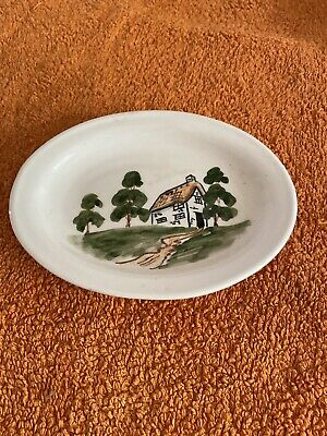 Bovey Pottery Small Handpainted Dish • 0.99£